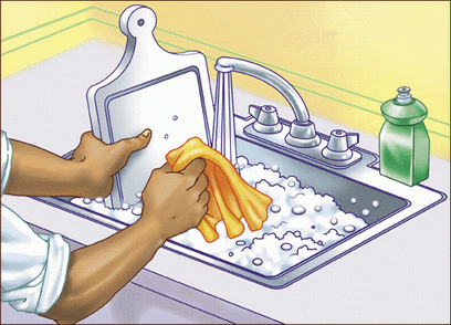 washing-dishes